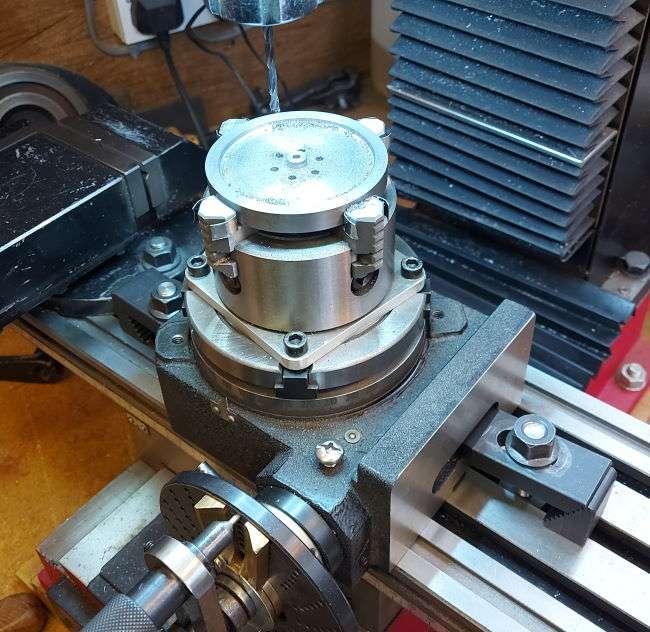 flywheel on rotary table
