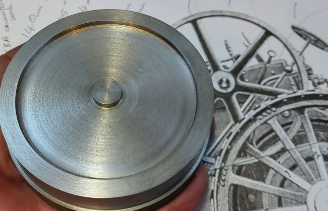 outer surface flywheel profile