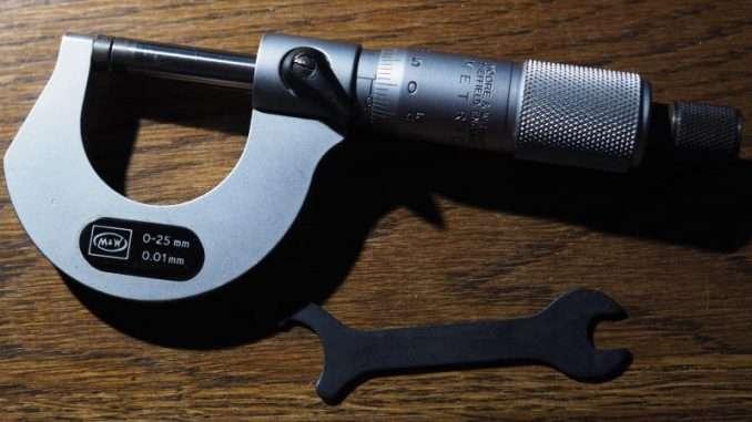 Moore & Wright Micrometer