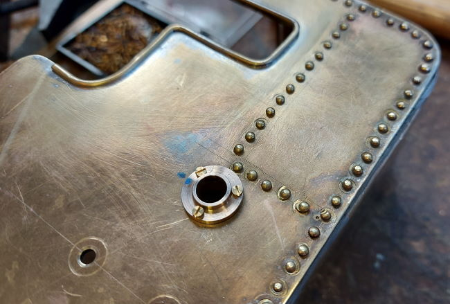 3 off 12BA bolts fixe each bearing