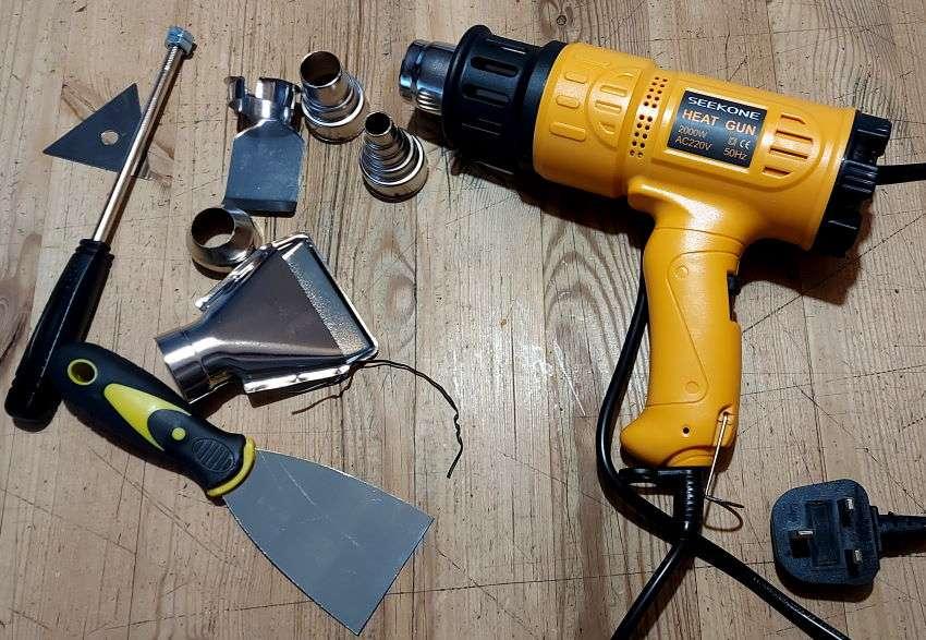 Seekone Heat Gun and Accessories
