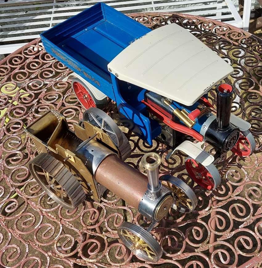 mamod vs burrell traction engines