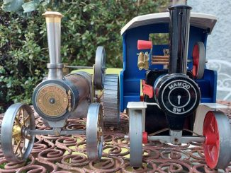 Burrell and Mamod traction engines