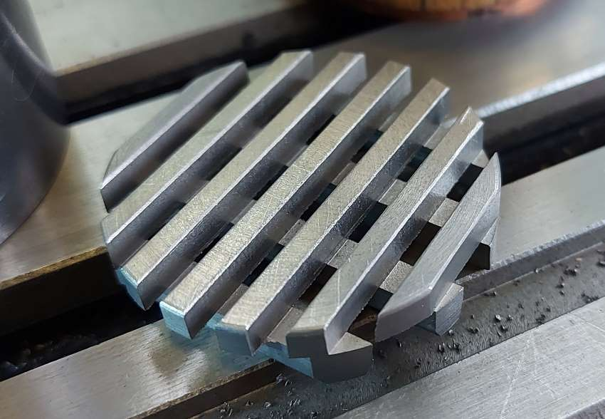 finished fire grate