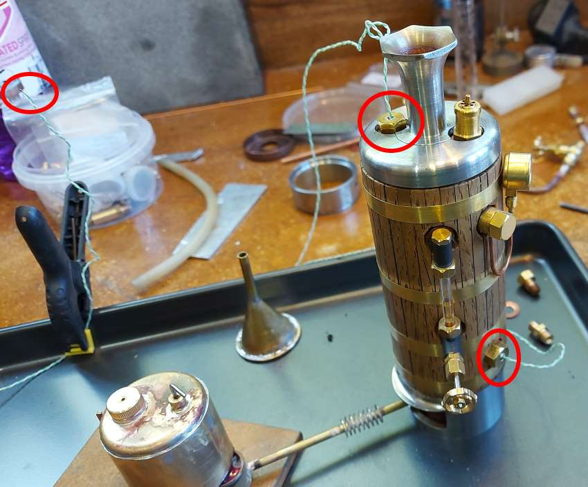 thermocoupled boiler