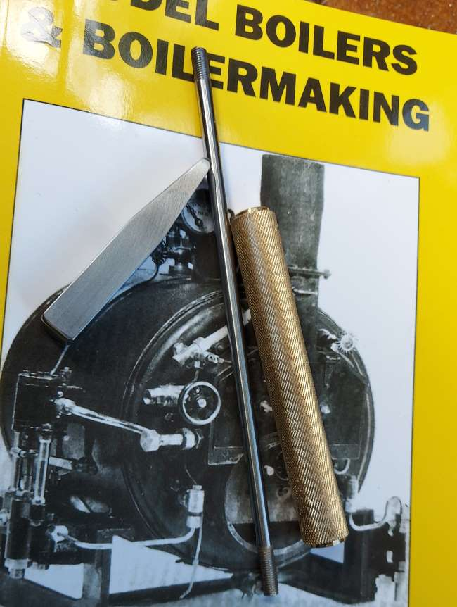 Harris boiler book and parts of the hammer