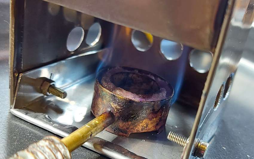 optimised firebox and burner