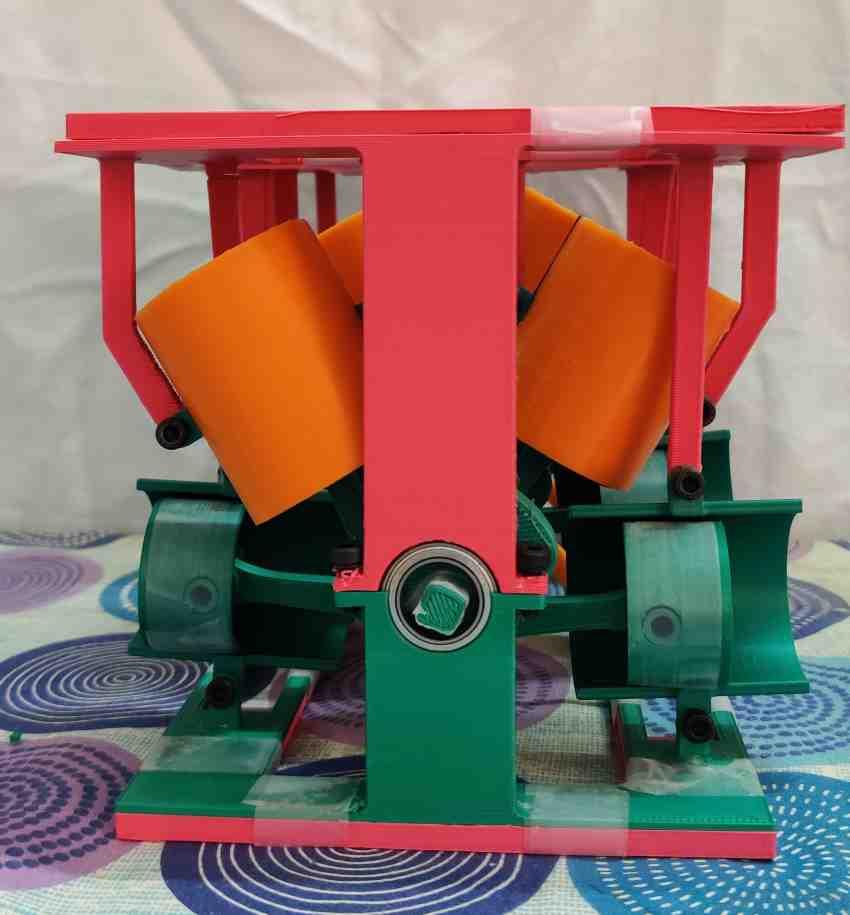 rapid prototype of k-type engine