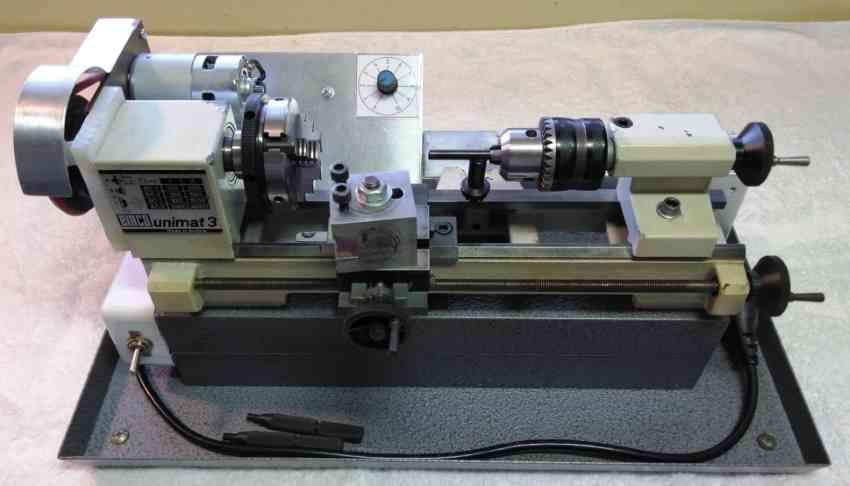 24V DC Motor Conversion for Unimat