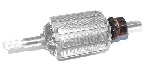 electric motor commutator
