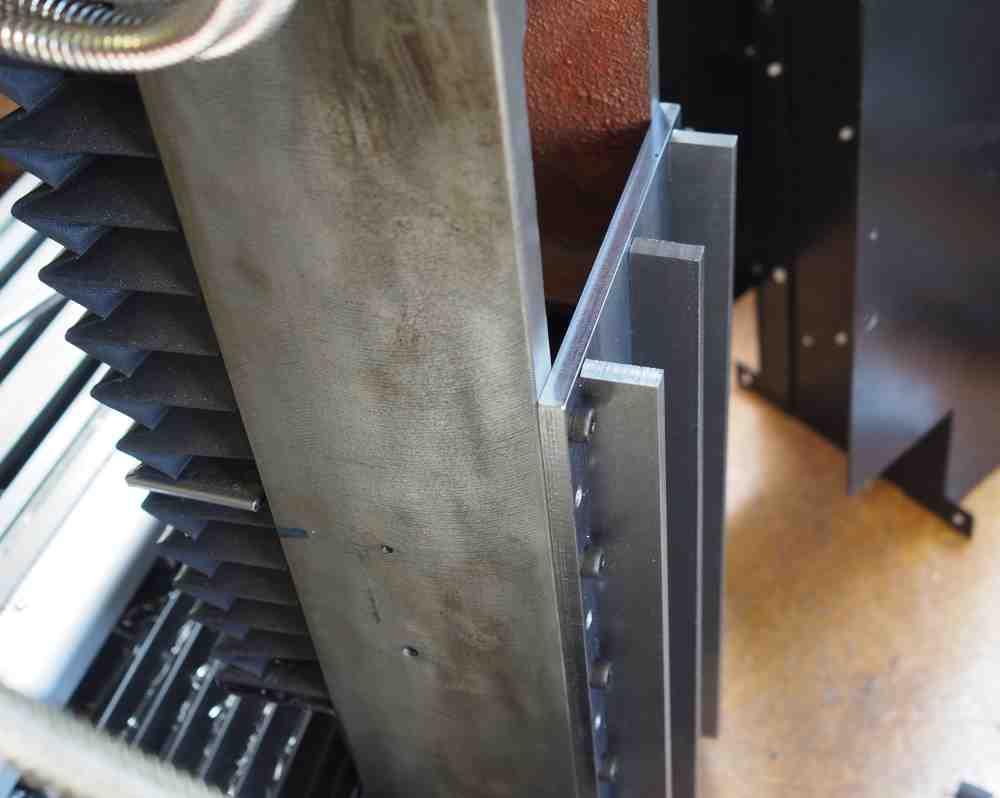 1/4 inch steel brack for Sieg SX2.7