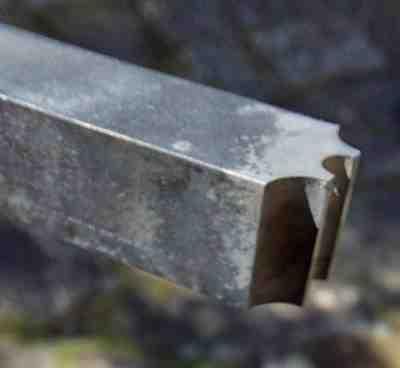 case hardened tool for brass