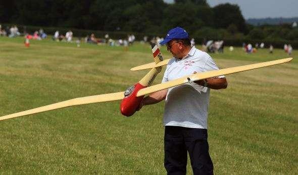 Dave Taylor model aircraft