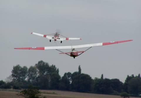 glider towing