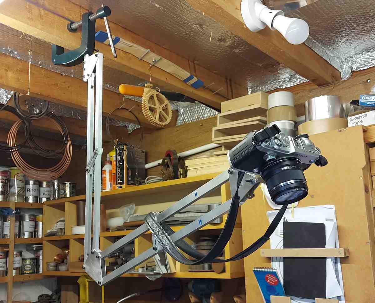 heavy duty camera arm