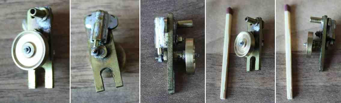 miniature oscillating engine