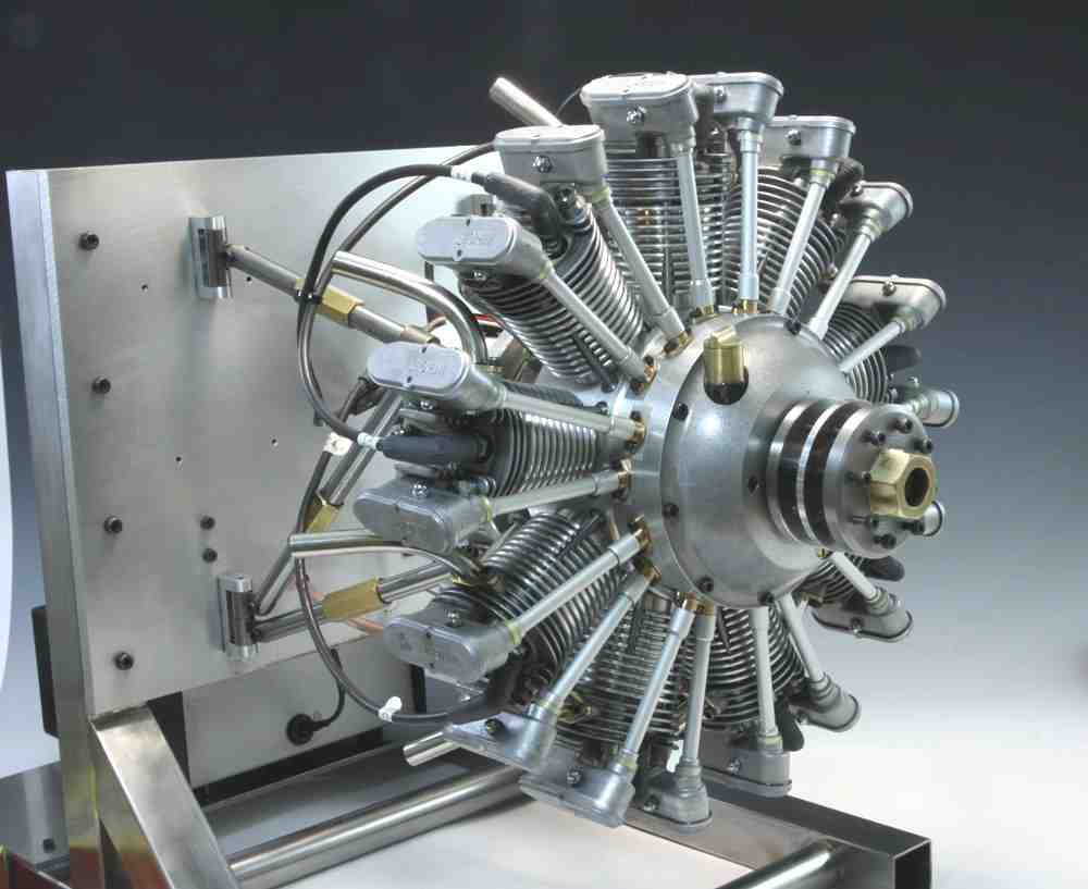 wright 9 cylinder radial
