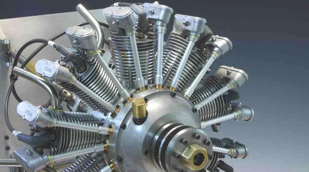 wright 9cylinder radial Ken-ichi Tsuzuki