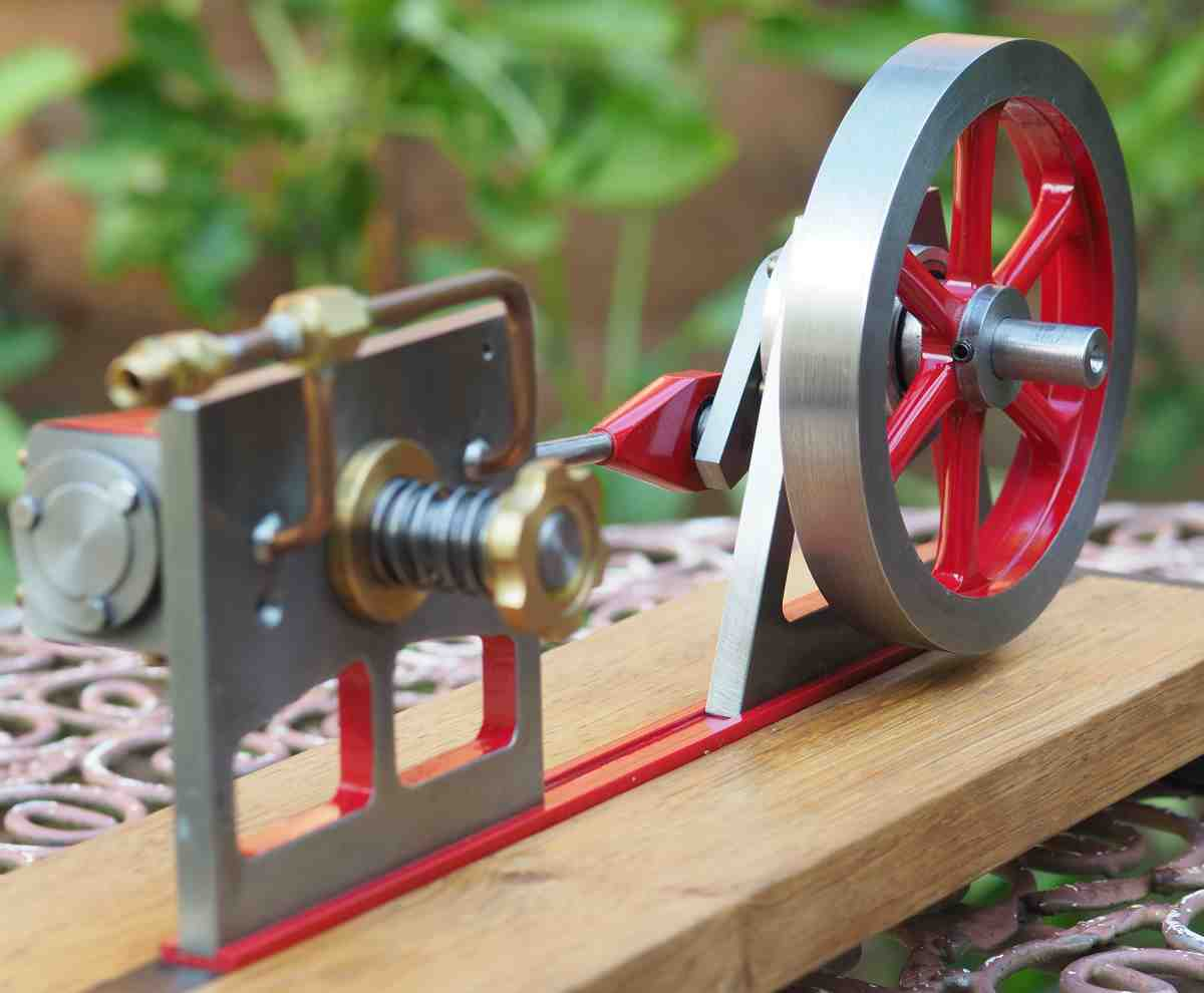 simplified oscillating engine