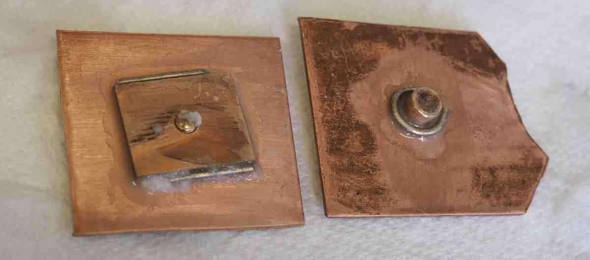 solder test parts
