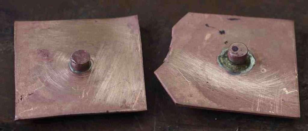 silver solder test parts