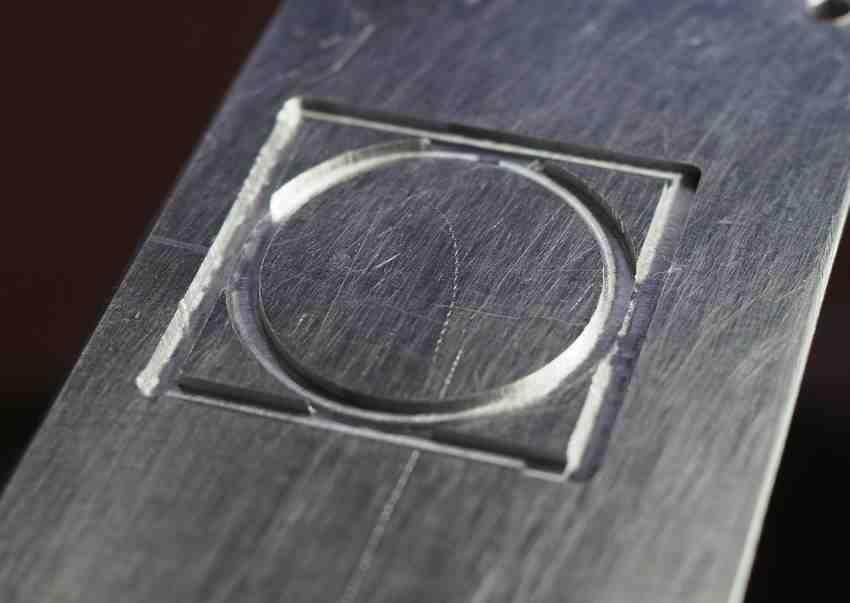 aluminium machined on Genmitsu 3018