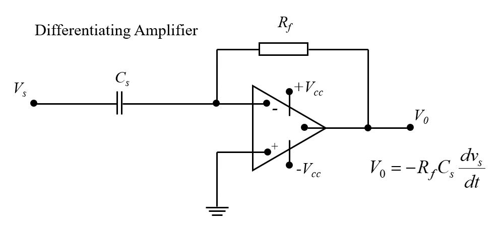 differentiating amplifier