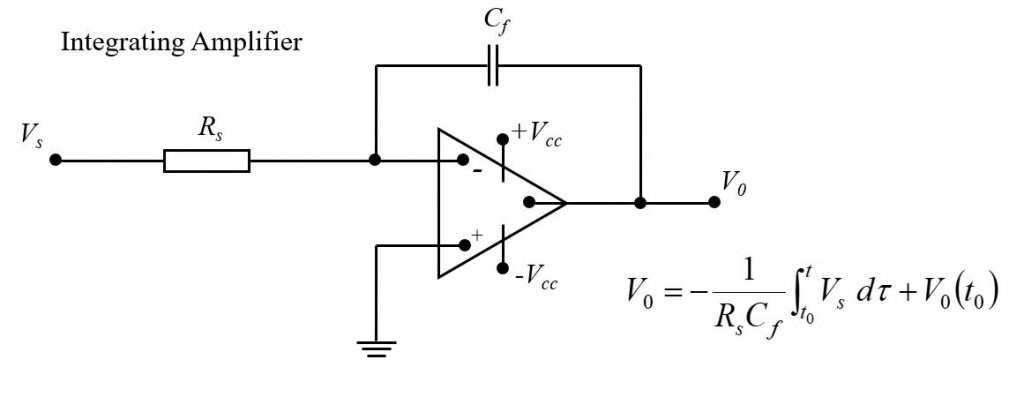 Integrating amplifier