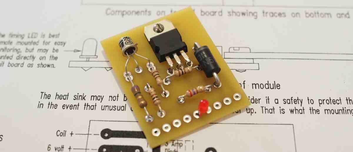 TIM-6 Transistor Ignition