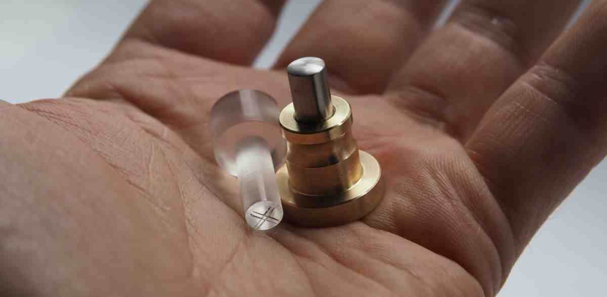 handmade optical centre punch